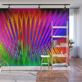Feathers by light ... Wall Mural