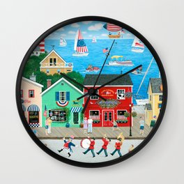 A Star Spangled Day Wall Clock