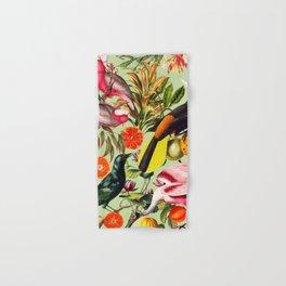 Floral and Birds XXXVII Hand & Bath Towel