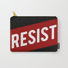 RESIST red white bold anti Trump Carry-All Pouch