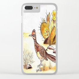 Roadrunner Clear iPhone Case