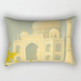 Visit India Rectangular Pillow