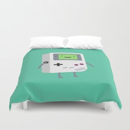 Who wants to play video games?  Duvet Cover