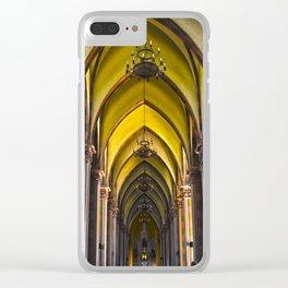 Where Memories Go Clear iPhone Case