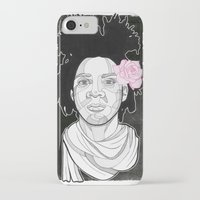 basquiat iPhone & iPod Cases featuring Basquiat by DonCarlos