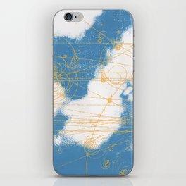 Cloud Chamber iPhone Skin