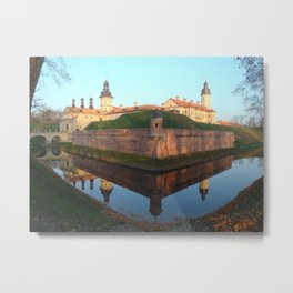 Castle of Nesvyz Metal Print