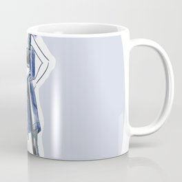Namaste Yoga Girl Coffee Mug