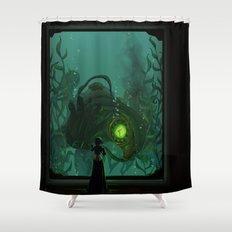 Songbird's Sacrifice Shower Curtain