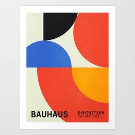 Bauhaus Exhibition 1923 II: Mid-Century Series Art Print