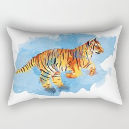 Tiger Cub Rectangular Pillow
