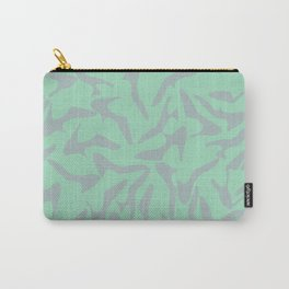 Shoes Zoom Mint and Grey Carry-All Pouch