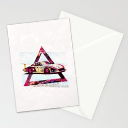 """Porsche 935/78 """"Moby Dick"""" // Le Mans Race Cars Stationery Cards"""