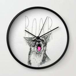 R O A R Wall Clock