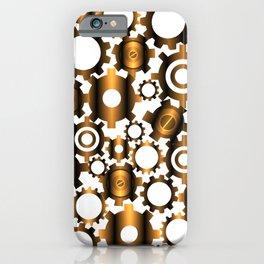 Gears Pattern iPhone Case