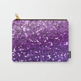 Mermaid Glitters Sparkling Purple Cute Girly Texture Carry-All Pouch