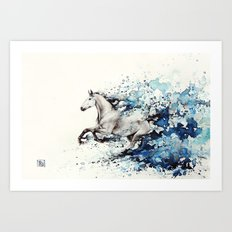 Celerity Art Print