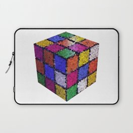 The color cube Laptop Sleeve