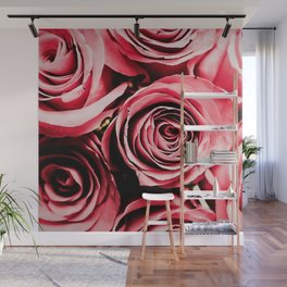 Moonlight & Roses Wall Mural