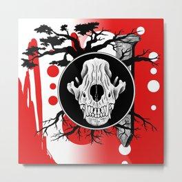 Amos Fortune Trash Polka Metal Print