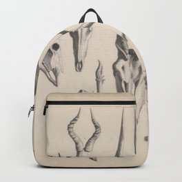 Antlers And Horns Backpack