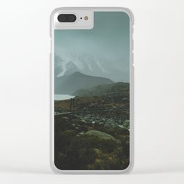 Hiking Around the Mountains & Valleys of New Zealand Clear iPhone Case