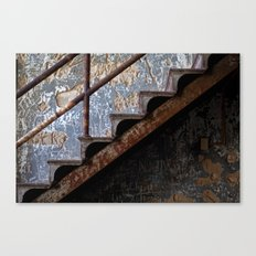 Graffiti Stairs Canvas Print