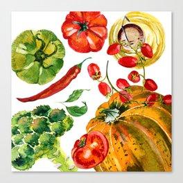 Vegetable mix Canvas Print