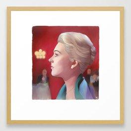 Kim Novak  Vertigo Framed Art Print