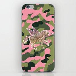 Girl Power Flying Unicorn iPhone Skin