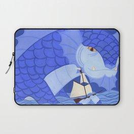 A Friendly Sea Monster Laptop Sleeve