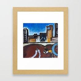 Brisbane River - Australia Framed Art Print