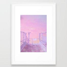 Miyazaki First Light Framed Art Print