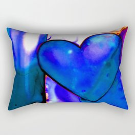 Heart Dreams 1H by Kathy Morton Stanion Rectangular Pillow