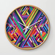The Shattering Wall Clock