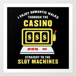 To The Slot Machines - Gift Art Print