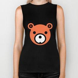 Bear Very Funny And Super Cute Gift Idea Biker Tank