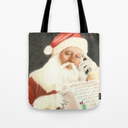 Letter to Santa Claus Tote Bag