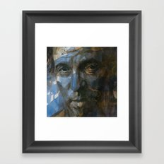 Shackled and Drawn Framed Art Print