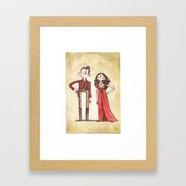 Mal + Inara Framed Art Print