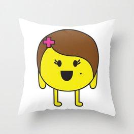 Protona Throw Pillow
