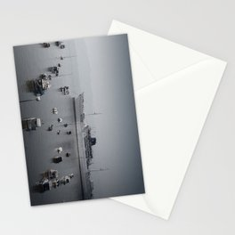 small and big boats Stationery Cards