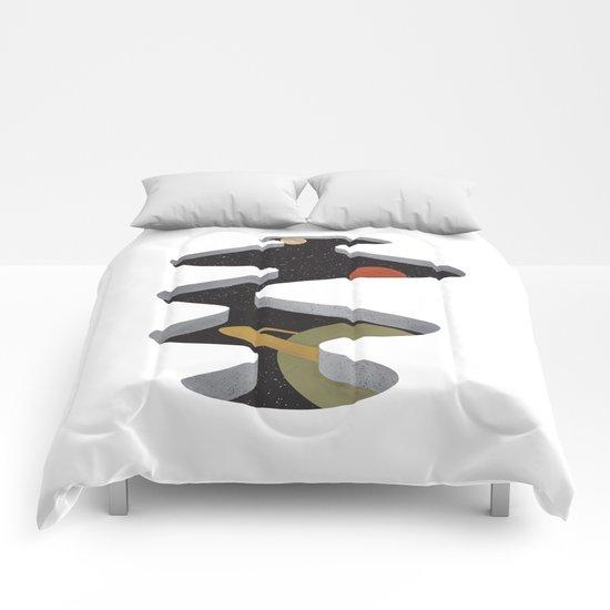 A Space In The Floor Comforters