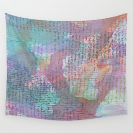 Words and Water Paint 2 Wall Tapestry