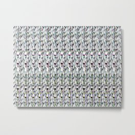 whitecalx glitchh Metal Print