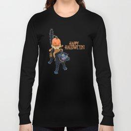 Rucus Studio Halloween Mischief Long Sleeve T-shirt