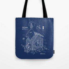Trojan Rabbit Tote Bag