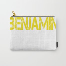 All care about is_BENJAMIN Carry-All Pouch