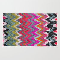 chevron Area & Throw Rugs featuring Chevron * by Mr and Mrs Quirynen