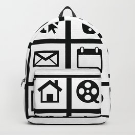 Web Icons Backpack
